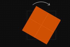 rotate(),旋转变形
